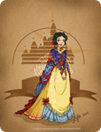Disney steampunk: Snow-white by MecaniqueFairy