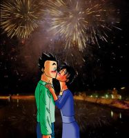 Happy New Year, Gohan by MissKisa
