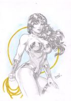 Wonder Woman by David Lima by Ed-Benes-Studio