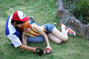 Misty and Ash Ketchum - Pokemon Cosplay