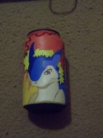 Painted Cans: Typhlosion Style by PsycoBunnyRachel