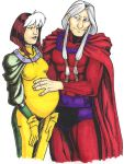 AOA Magneto and Rogue by thew40