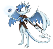Everess The Frost Dragoness by RoninHunt0987