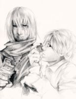 Mello + Near - Death Note by cafe-lalonde
