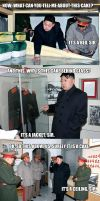 Kim Jong Il wants his cake by Zuerel