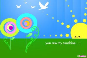 You are my Sunshine by cutiepop