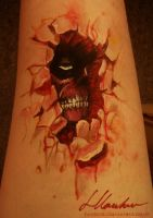 Attack on Titan Bodypaint by larahawker