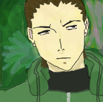 Shikamaru by kingofthe3lves