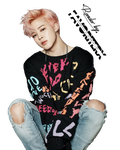 BTS - Park Jimin - YOU NEVER WALK ALONE - RENDER9 by FavoriteRX