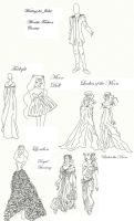 Winetta's Fashion Contest 7 by anelphia