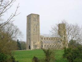 Wymondham Abbey: close-up by Based-on-love