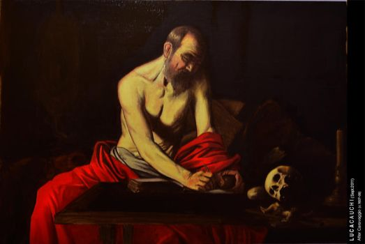 Caravaggio Study by luca540