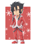 Toru in Santa outfit by WarriorAngel36