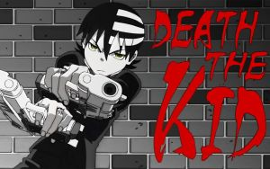 soul eater: death the kid wall by kokia