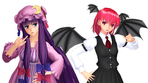 MMD Friends of the Library... by GalaxyGuild
