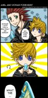 Axel and Roxas Comic by neneno