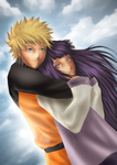 Naruhina...in the sky by bubbamich