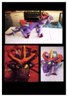 Malefor Plushie WIP by Caranth