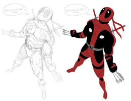 Weapon Deadpool by darknight7