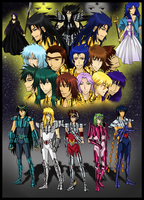 Saint Seiya: Holy War by GazeRei