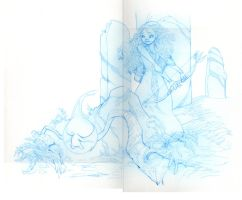 Brave Sketch by CasCanete