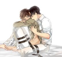 Eren and Levi by EryenArt