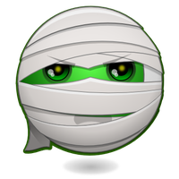 Halloween Smileys : The Mummy by mondspeer