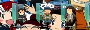 Supernatural Folder Icons by Ginokami6