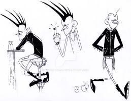 Johnny Rotten - Expresiones corporales by espukydum