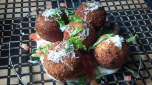 Arancini of sorts by FutureChefHaku