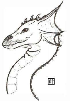 Dragon Bust by blood-of-the-bush