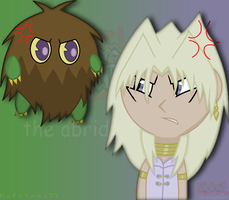 Marik and Kuriboh,Obey me Little Kuriboh! Obey me! by Nefeloma21