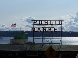 Pike Place Market by aliengirl31186