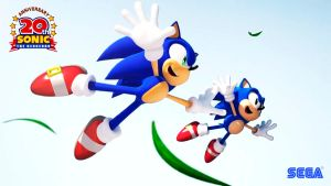 Sonic Generations wallpaper 3 by Andrelevydeoliveira