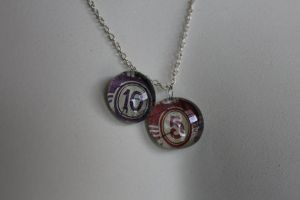 5 and 10 Pendants by BlueSpecsStudio