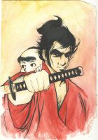 Lone Wolf and Cub by cillabub