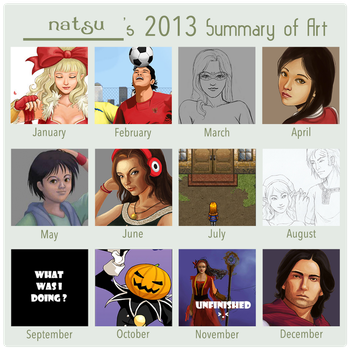 2013 art summary by dear-summer