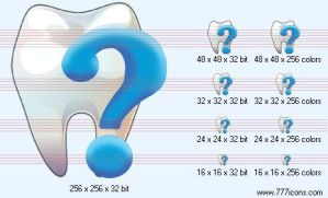 Tooth status Icon by medical-icon-set