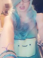 Adventure Time: BMO Cosplay by LeSoapBubble