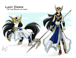 Commission - Lady Dawn by Valkyrie-Girl