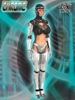 Chrome - the cybernetic woman by Doctor-Robo