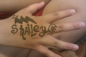 hand henna tattoo by LillyMasacre