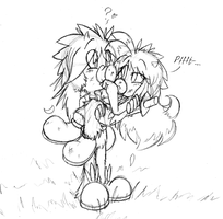 Outcome of a Play-Fight by Super-Sonic-101