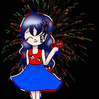 Alex 4th of July by kayleero