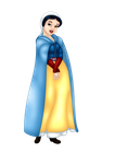 Snow White - 7th Century by FalseDisposition