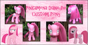 My Little Pony - Pinkamena Diane Pie Custom Pony by Asukatze