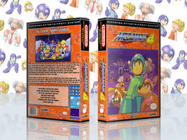 MegaMan 4 Complete Works Cover by TuxedoMoroboshi