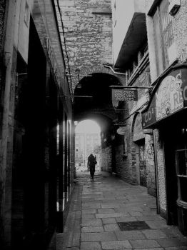 Crown Alley, Temple Bar by forever-green