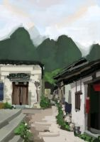 China Landscape by kris-in-the-shell