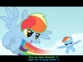 Rainbow - Bearer VS Dash by Arceus55